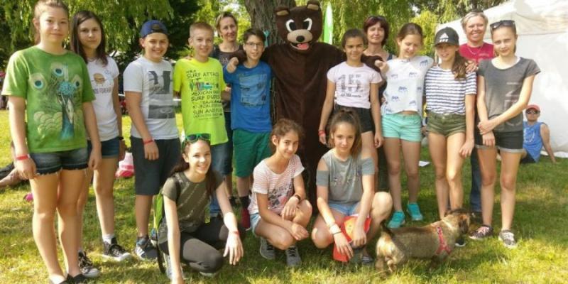 Szabadtéri Medve Matek verseny