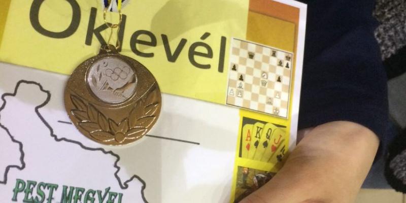 Kiváló eredmények a sakk diákolimpián!