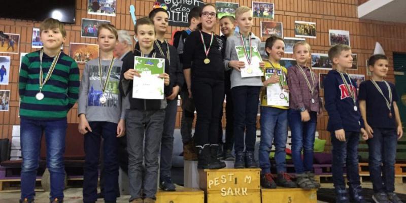 Ismét kiemelkedő sikerek a Sakk Diákolimpián!